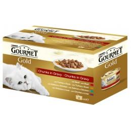 GOURMET GOLD gaļas gabaliņu...