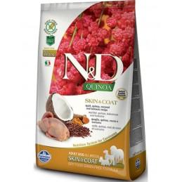 N&D DOG QUINOA QUAIL SKIN &...