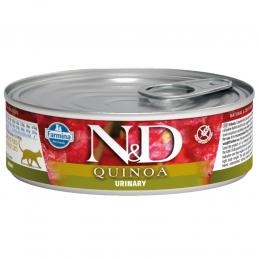 N&D CAT QUINOA URINARY 80g