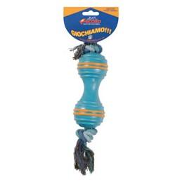Kaučuka rotaļlieta ar virvi...